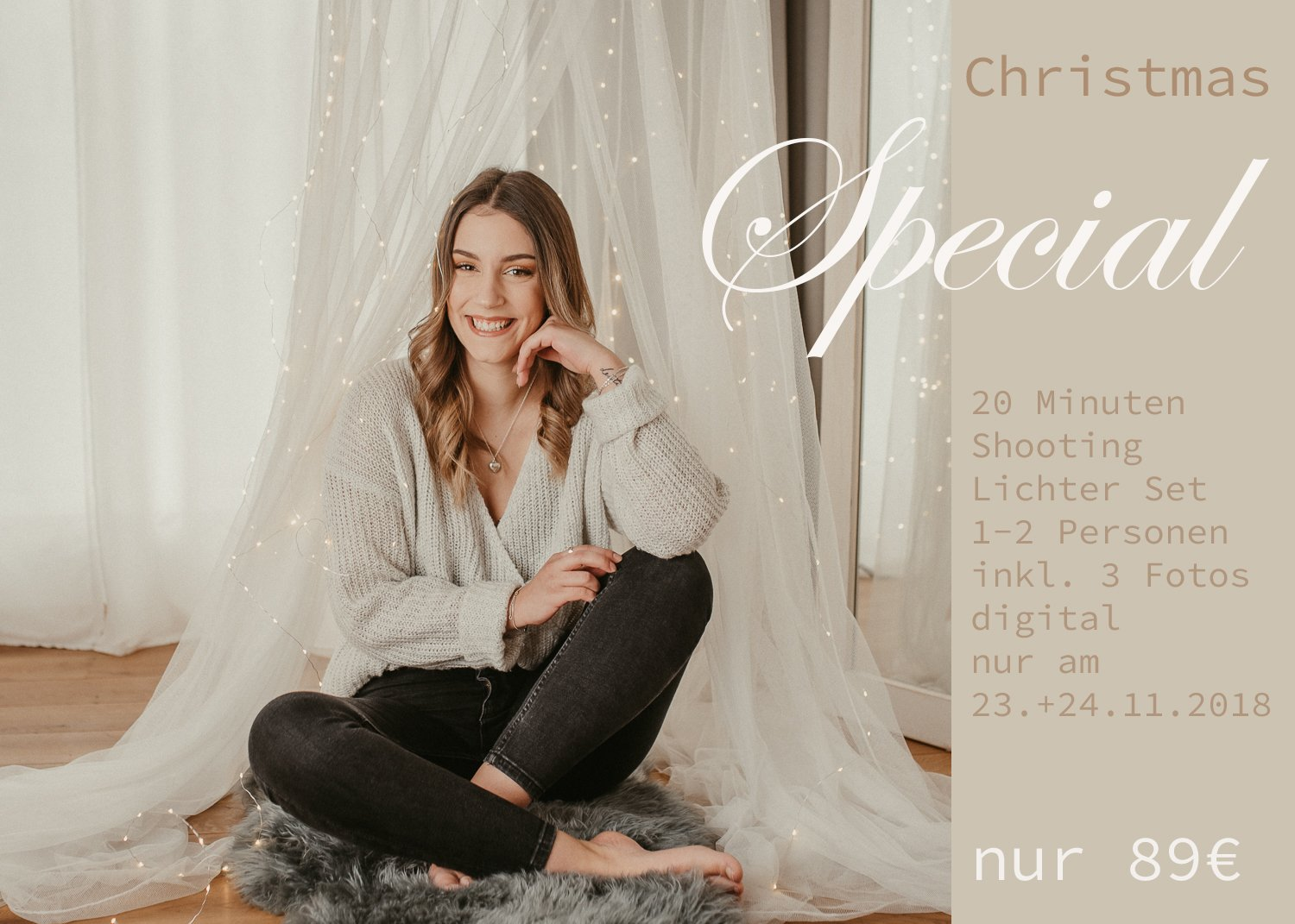 Christmas Special Lichter Aktion Mini Shooting